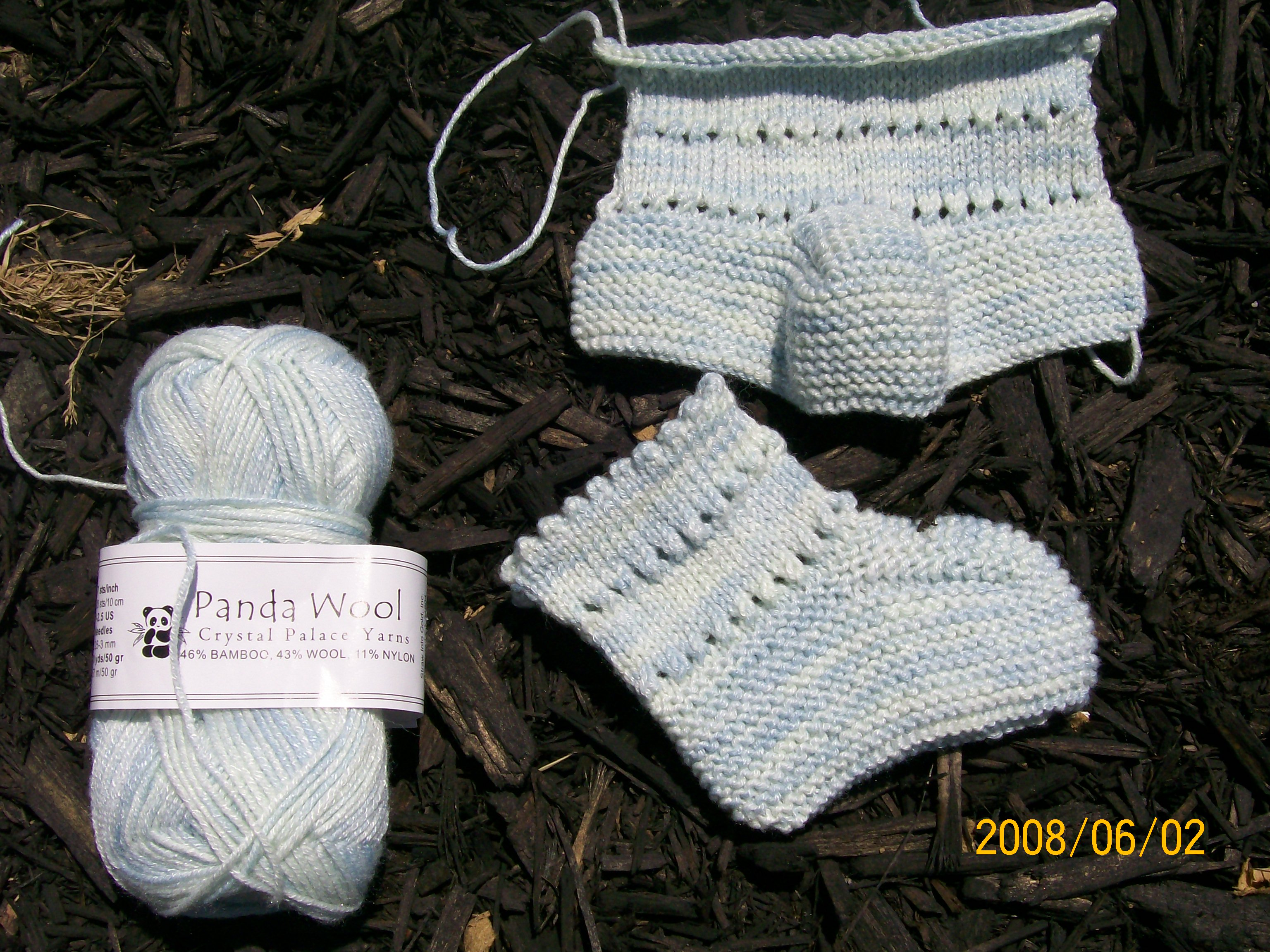 Free Baby Bootie Pattern | Andrea Wong Knits