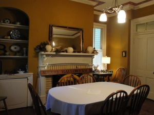 Bed and Breakfast Dinning Room